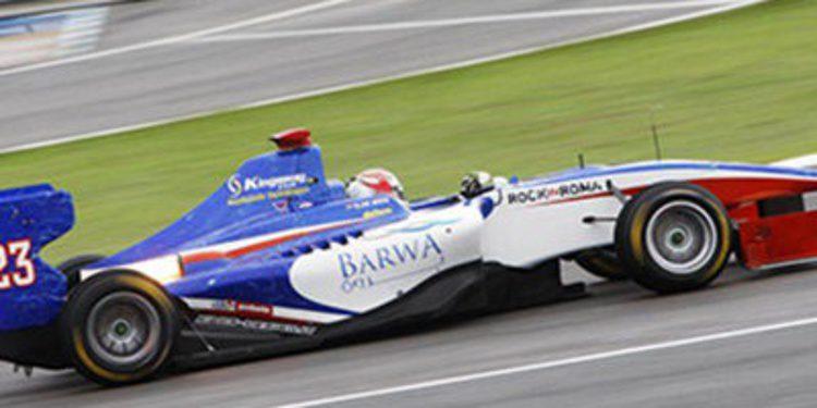 Roman de Beer en GP3 2014 con Trident