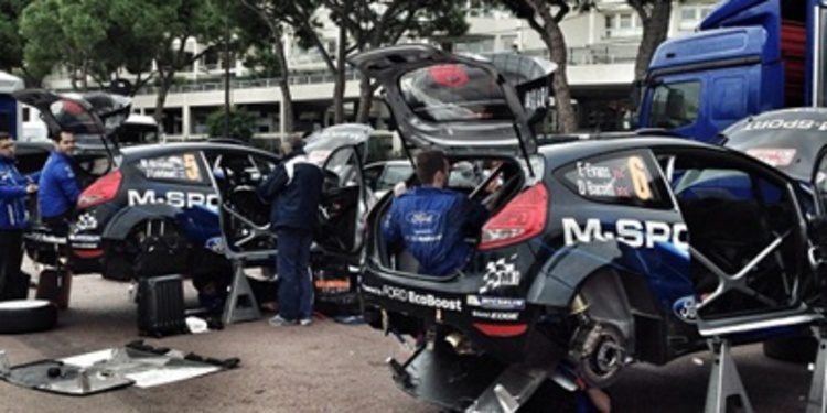 Mikko Hirvonen liderará en Montecarlo a M-Sport