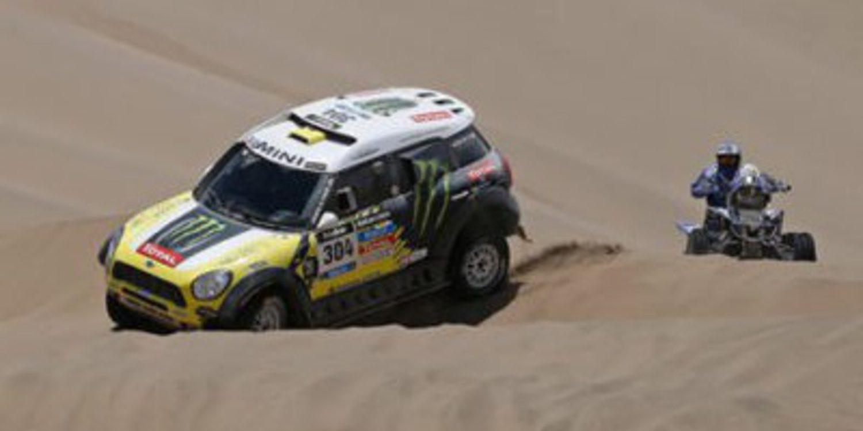 Dakar 2014: Clasificaciones tras la novena etapa