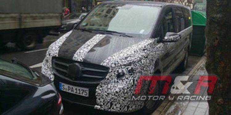 Cazado el Mercedes-Benz Clase V en España