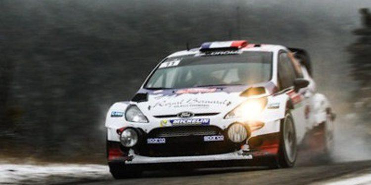 Bryan Bouffier manda en el Montecarlo con Hyundai y Dani Sordo KO