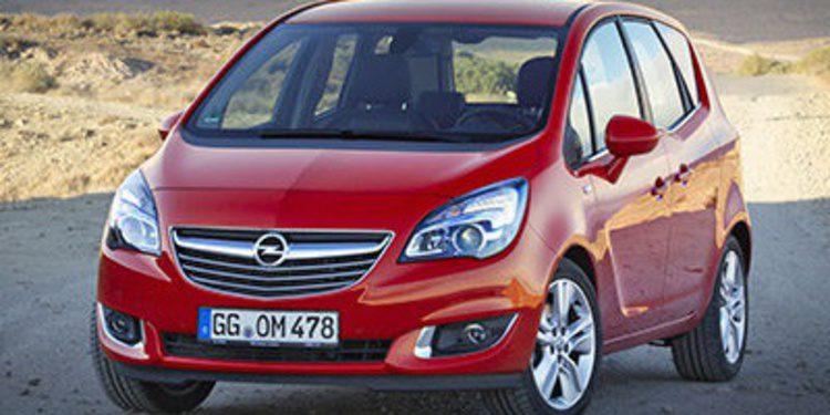 Opel retoca el pequeño Meriva