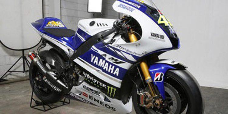 Esta es la Yamaha YZR-M1 de MotoGP 2014
