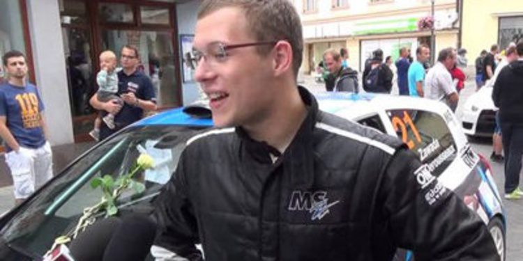 El joven polaco Aleks Zawada disputará el Junior ERC