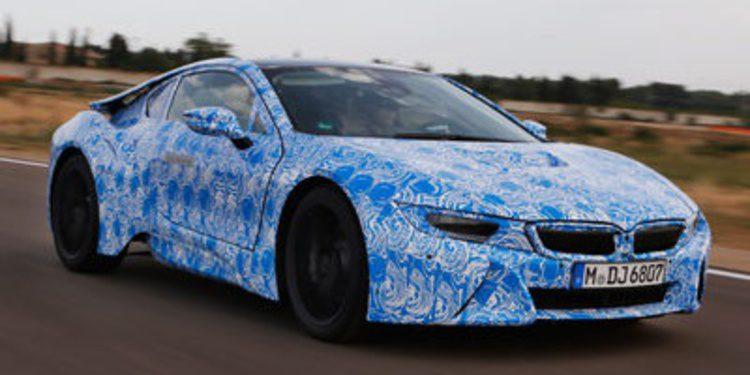 Un prototipo del BMW i8 sufre un accidente