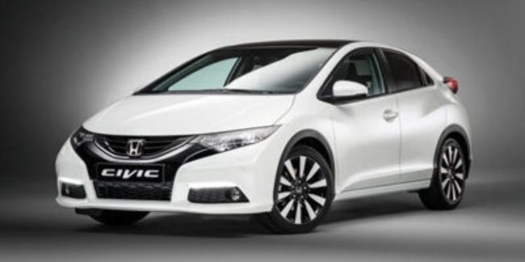 Honda realiza un lavado de cara al Civic