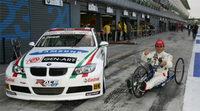 Alex Zanardi a las Blancpain GT Series con BMW