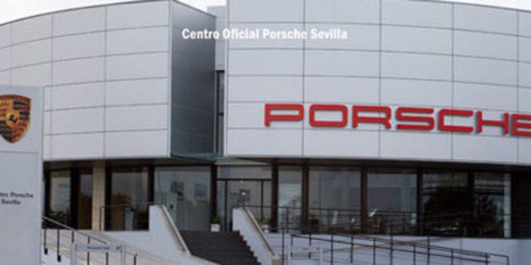 Asaltan el concesionario Porsche de Sevilla