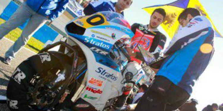 Luca Vitali disputará el CEV con el Team Stratos