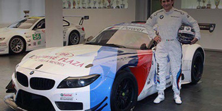 Alex Zanardi satisfecho con el BMW adaptado