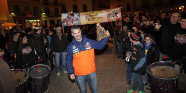 Dakar 2014: Jordi Viladoms homenajeado por su podio