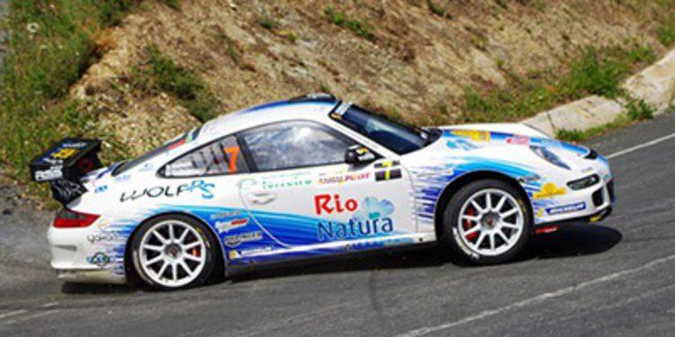 El Porsche de Sergio Vallejo para Luís Vilariño