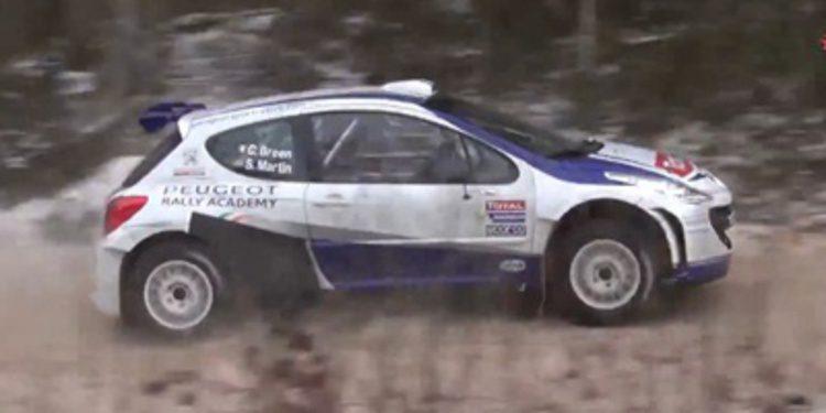 Numerosos test previos al Rally Liepaja del ERC 2014