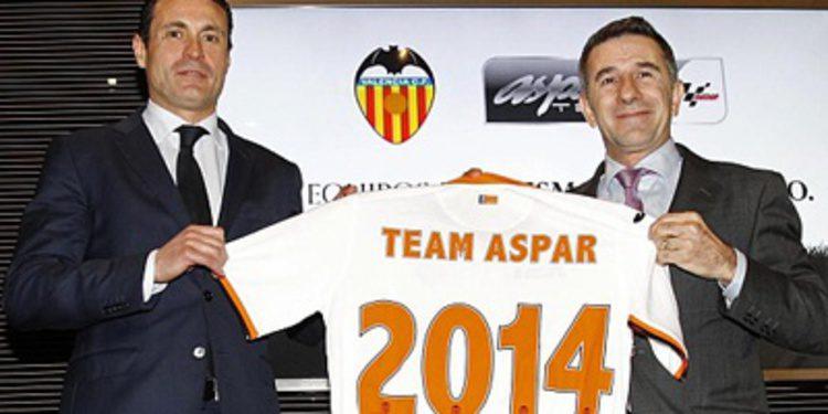 Drive M7 y el Valencia C.F, nuevos socios del Aspar Team