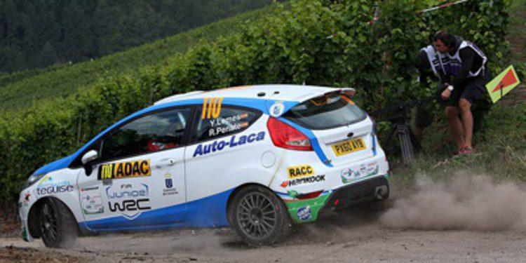 'Cohete' Suaréz y Yeray Lemes siguen en el WRC 2014