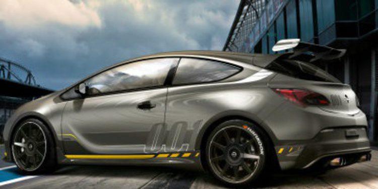 Opel Astra OPC Extreme tal como su nombre indica