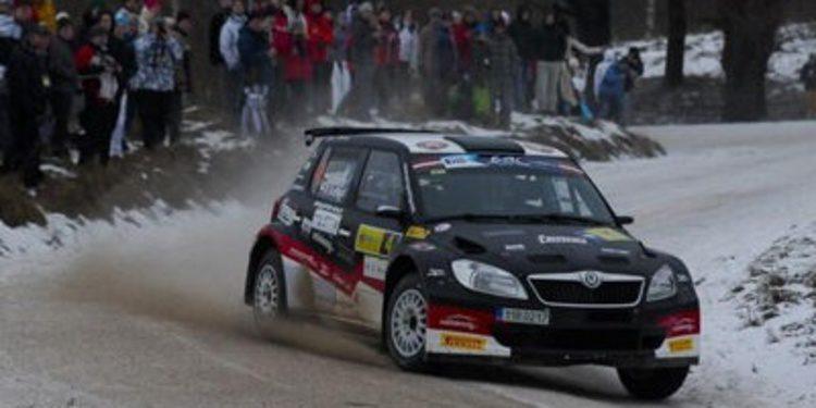 Dos días en la nieve para el Rally Liepaja del ERC