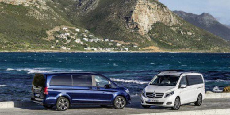 Presentación del nuevo Mercedes-Benz Clase-V