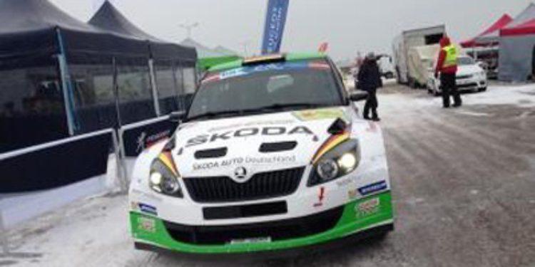 Sepp Wiegand domina el QS del Rally Liepaja del ERC