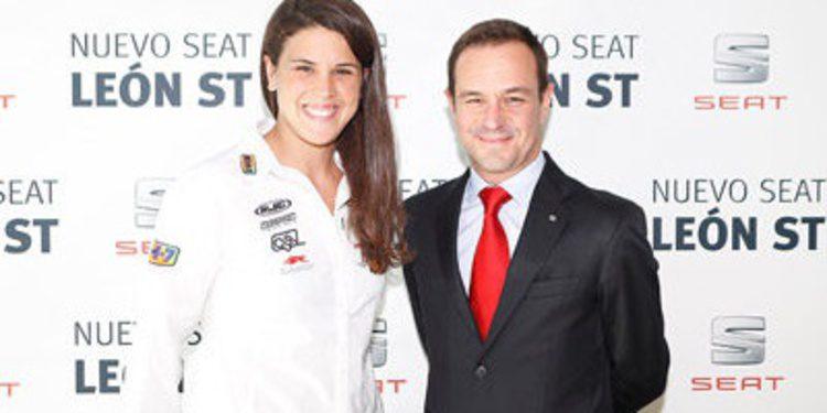 Laia Sanz embajadora del Seat León ST