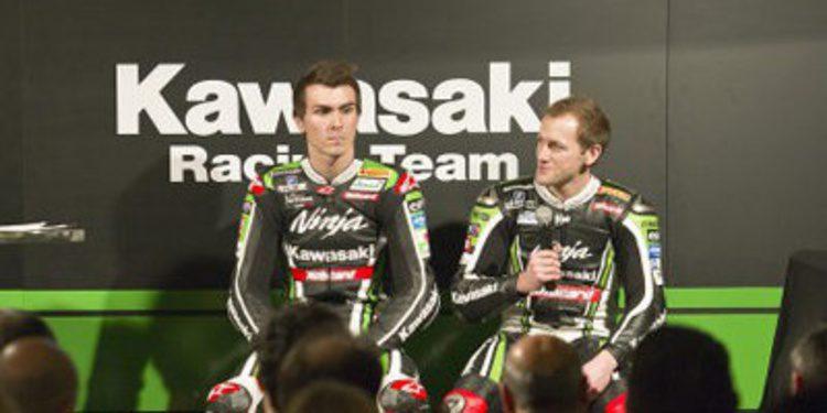 Kawasaki Racing presenta su equipo WSBK en Barcelona