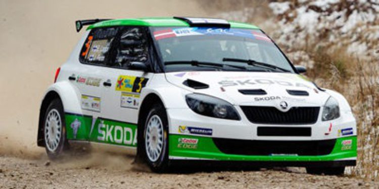 Esapekka Lappi lidera el Rally Liepaja tras el SS6