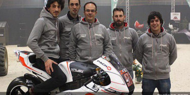El equipo SAG Racing de Moto2 se presenta en Le Mans