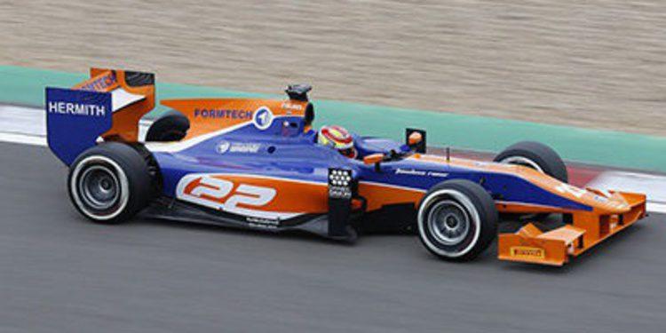 Robin Frijns no tiene pensado competir en GP2 en 2014