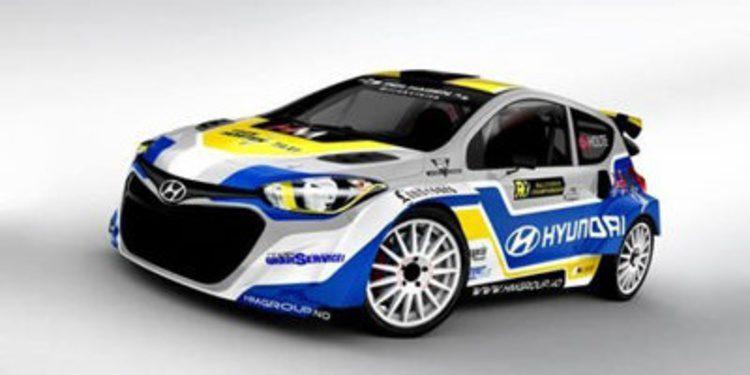 El Hyundai i20 es válido para el Mundial de Rallycross