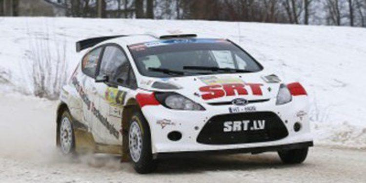 Las mejores imágenes del Rally Liepaja del ERC 2014