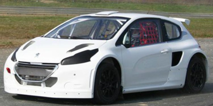 Hansen y Peugeot juntos en el Mundial de Rallycross
