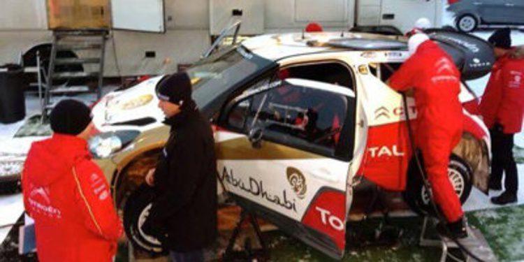 Pilotos y equipos preparan el Rally de Suecia