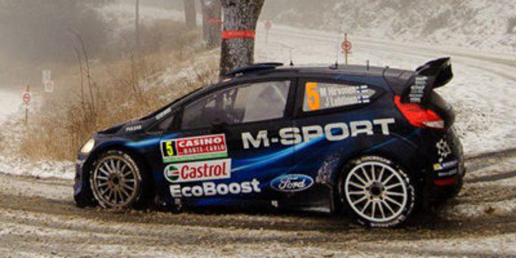 M-Sport quiere dar la sorpresa en la nieve de Suecia