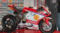 Althea Racing y su Ducati EVO del WSBK para Canepa