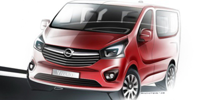 Teaser doble de la nueva Opel Vivaro y Renault Trafic