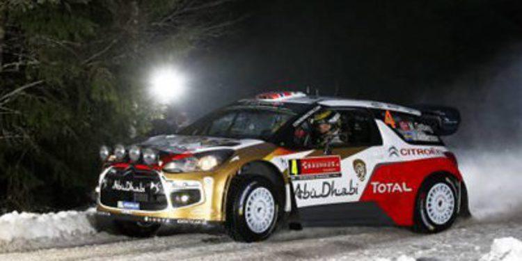 Mads Ostberg domina el shakedown del Rally de Suecia