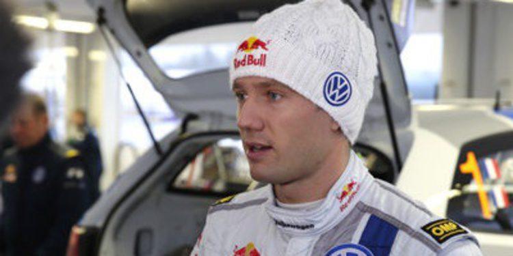 Sebastien Ogier lídera el Rally de Suecia tras el SS4