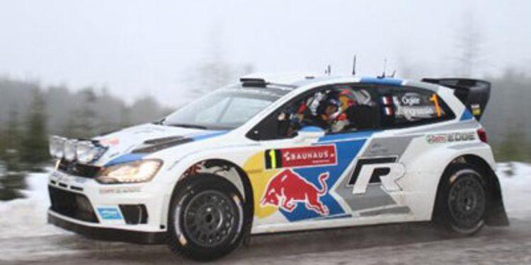Seb Ogier capitanea a Volkswagen en el Rally de Suecia tras el SS7