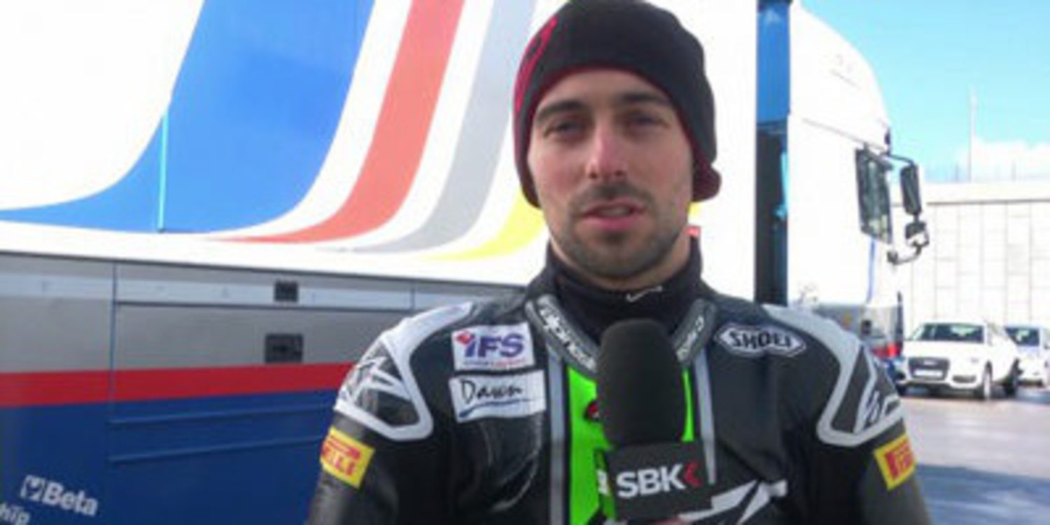 "Eugene Laverty: ""La Suzuki se lleva como una Supersport"""
