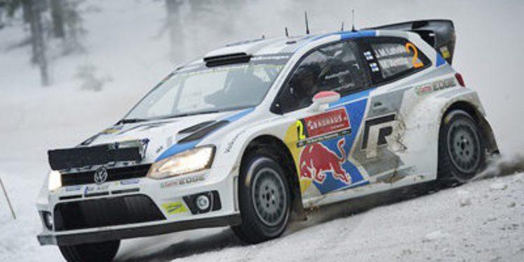 Ogier deja via libre en Suecia a la lucha entre Mikkelsen y Latvala