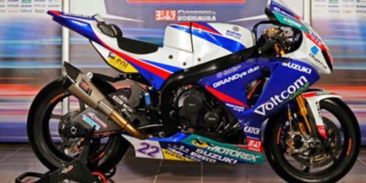 Crescent Suzuki presenta su proyecto del WSBK 2014