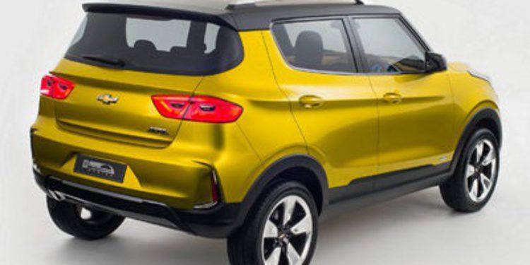 Chevrolet mostró en Nueva Delhi el Adra Concept