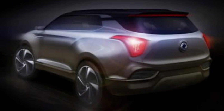 SsangYong XLV concept, la eterna promesa hecha SUV