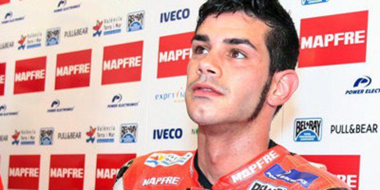 Test privado del team Aspar en el Circuit de Valencia
