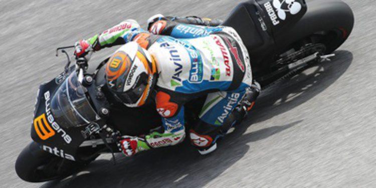 El equipo Avintia Racing valora el test de Sepang