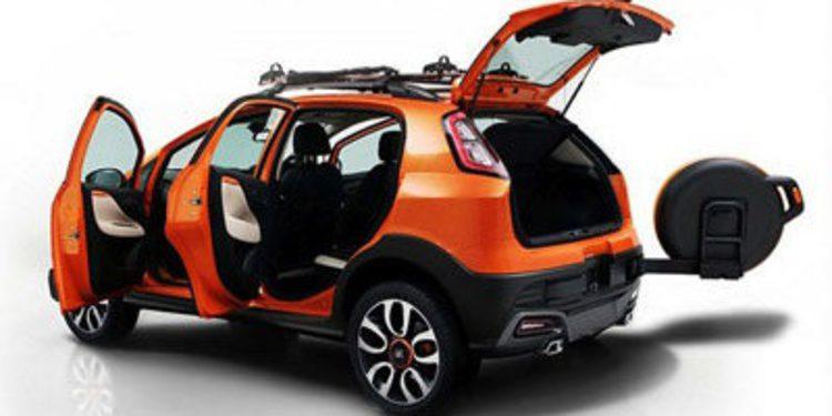 Fiat Avventura Concept, también visto en la India