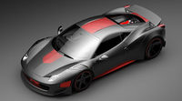 Exclusivo Ferrari F458 Curseive por Gray Design