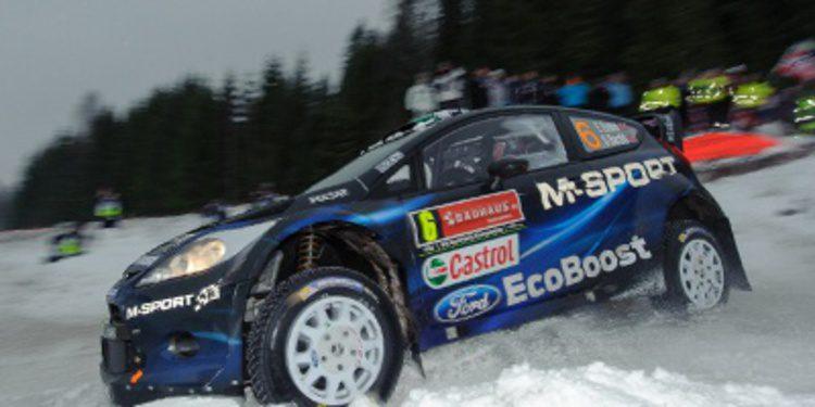 Los protagonistas del Rally de Suecia comentan la prueba