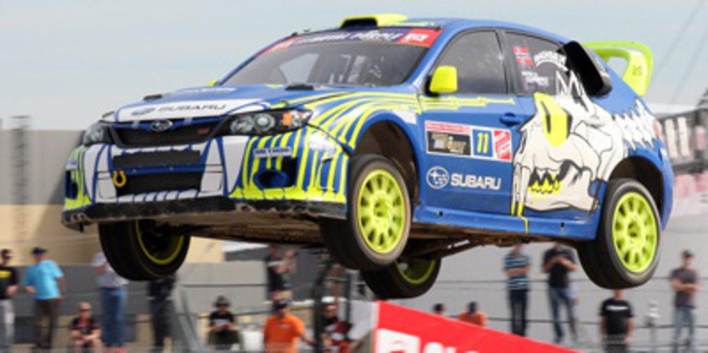 Subaru continúa en el Global Rallycross en 2014
