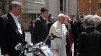 Harley-Davison, el Papa Francisco y una celebración